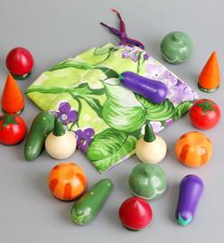 Волшебный мешочек овощи цветные
