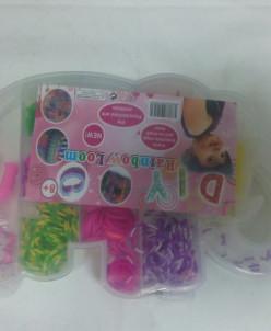 Набор резинок для плетения браслетов СЛОНИК,