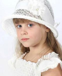 """Шляпа для девочки """"Ретро"""""""