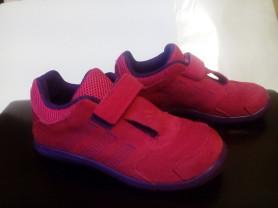 Лёгкие кроссовки Adidas замша р27-17,7 см