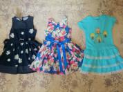 Платье, сарафаны, комплекты,юбки р.128-134