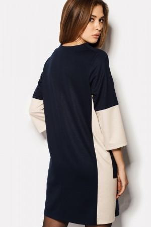 "Платье ""VERNA"" темно-синий"