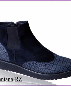 Очень легкие удобные ботинки из натуральной замши и кожи
