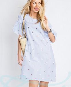 Летнее хлопковое платье Gepur