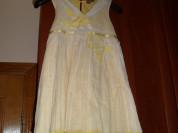 Легкое красивое платье на девочку р 128