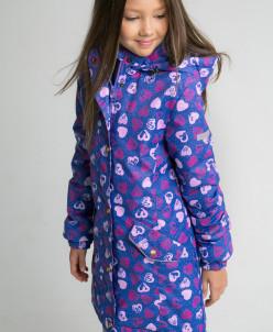 Пальто для девочки от +10° до -5°С