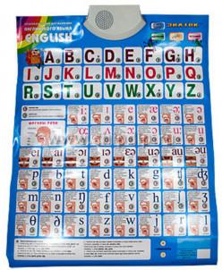 """Электронный плакат для изучения английского языка """"Знаток"""""""