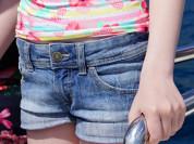 Шорты джинсовые Sisley 8-9лет