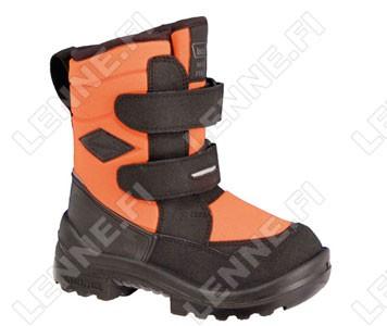 Зимние ботинки на липучках Crosser Neonorange Kuoma