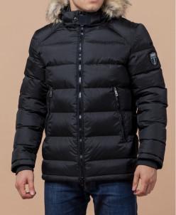 Куртка черного цвета фабричная модель 22540