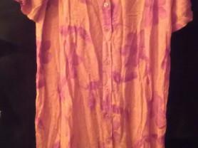 Платье-сарафан-халат в стиле бохо, хлопок, Индия
