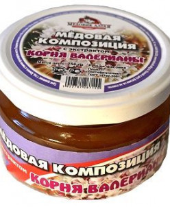 Алтайский Мёд с Валерьяной