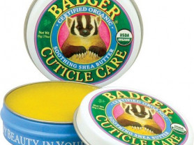 Органический уход за кутикулой от Badger Company.