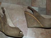 Туфли (босаножки) на сплошном каблуке