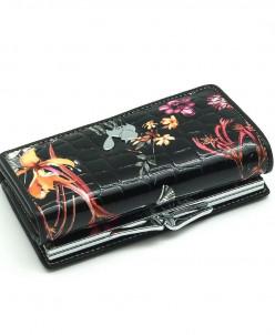 Маленький женский кожаный кошелек Sergio Valentini СВ 8075-0