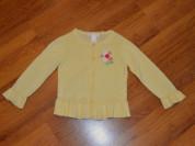 Желтая кофта Janie and Jack (США) на 3-5 лет.