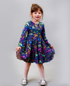 Платье длинный рукав