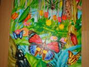 Пазлы с насекомыми 24 части, 2 вида 44х59х1