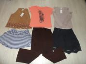Фирм. новые летние юбки блузки брюки топы р 48-50