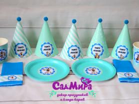 Декор на день рождения в силе Буба