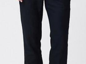 Новые льняные синие брюки Banana Republic