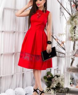 Пышное летнее платье