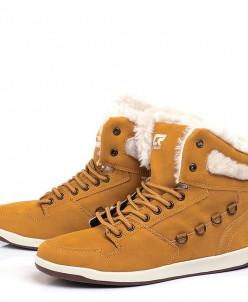 Женские желтые ботинки CROSBY