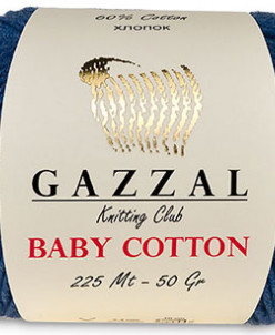 Пряжа Baby Cotton Gazzal