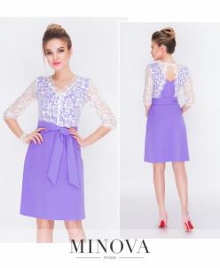 Платье №216-Лавандовый