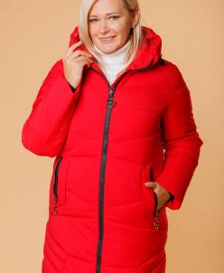Женская куртка 853-15 красная