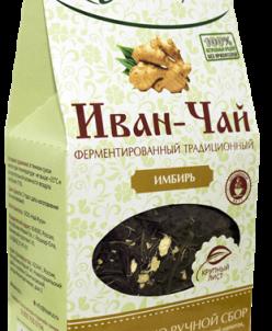 Иван-чай крупнолистовой ферментированный с имбирем (70 гр)