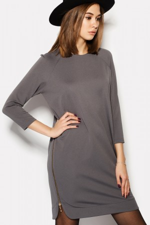 "Платье ""BARITA"" темно-серый"