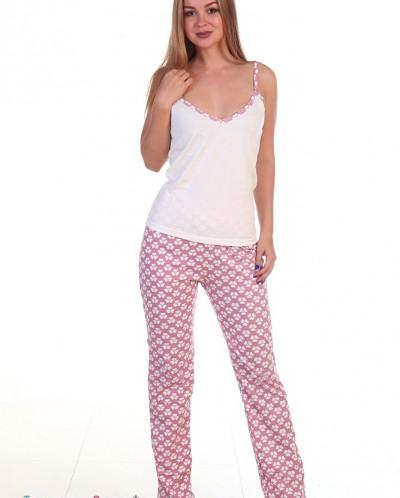 Пижама женская 009 (кулирка)