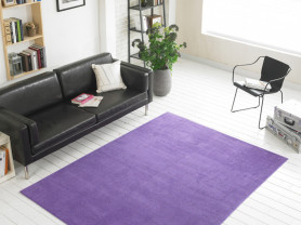 Фиолетовый ковер с коротким ворсом Pin 150 x 200см