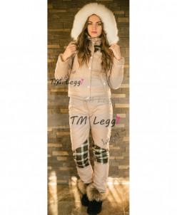 Женский лыжный термо костюм