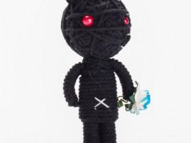 Блэк Мамба - кукла, талисман, ручная работа