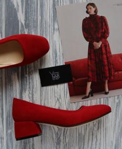 Замшевые милые туфли. Новая коллекция*19