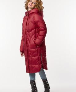 """Пальто """"Роксана"""" красное"""