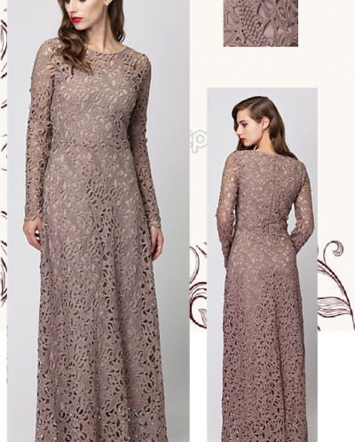 Элегантное кружевное платье для настоящей леди