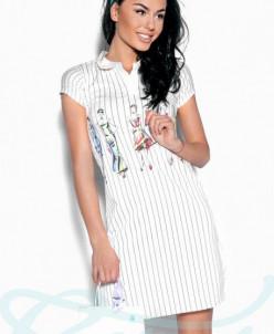 Платье Gepur в полоску