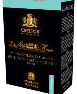 "Чай Chelton ""Благородный Дом"" ч+з (SUPER PEKOE) 100 гр кар"