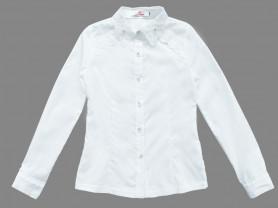 Белая блуза KidsKingdoms рост 134