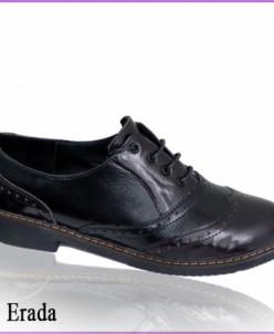 Туфли-броги из лаковой кожи