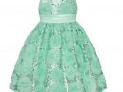 Платье салатовое (новое)