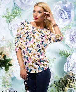 Блуза принт - 14776
