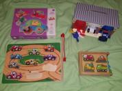 Деревянные игрушки Melissa Doug, Djeco 2+ 3+