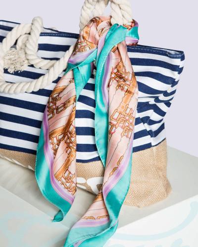 Классический шелковый платок