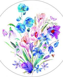 Букет полевых цветов - вышивка крестиком