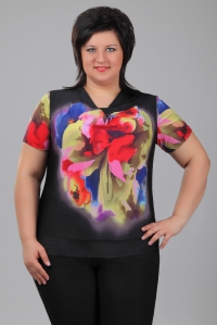 красивые блузки для полных женщин доставка