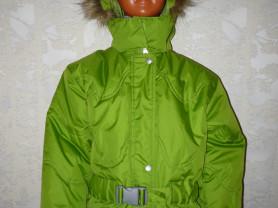 Куртка зимняя новая LASSIE р 92+, р 110+ девочка